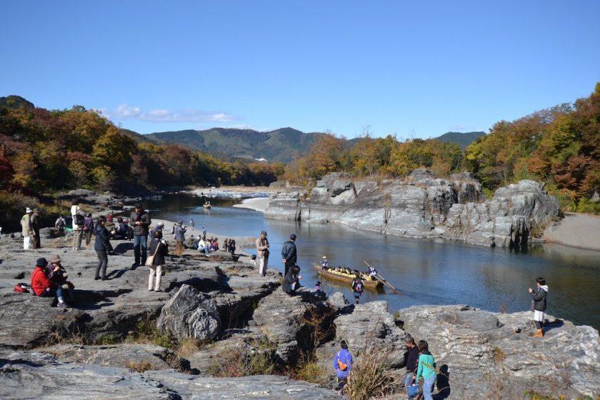 Nagatoro River White Water Rafting (at Nagatoro Station on the Chichibu Railway)