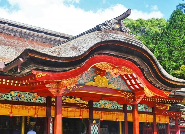Dazaifu Tenmangu Shrine Main Hall