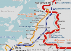 Outlook for restarting operation on partial section of Hisatsu Orange Railway