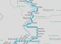 Operation resumed on JR Iida Line between Misakubo and Hiraoka