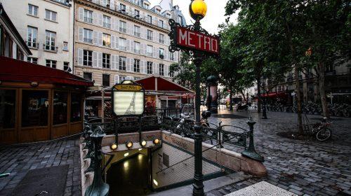 Paris Metro Saint-Michel Station