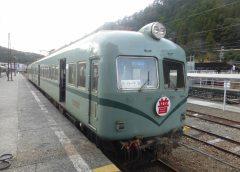 The local train of the Oigawa Railway Oigawa Line