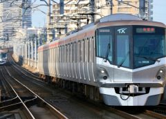 Tsukuba Express TX-1000 series train