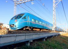 "Odakyu Romancecar MSE type 60000 used for ""Metro New Year"""