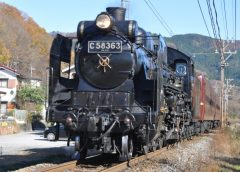 "Chichibu Railway ""SL Paleo Express"" by steam locomotive type C58"