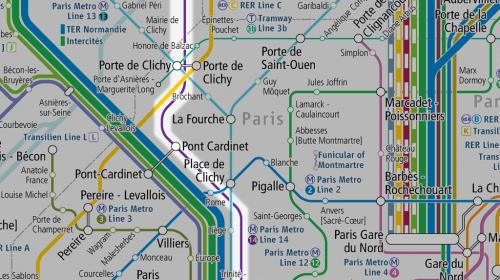 """Paris Metro Line 14 extended open """"Saint-Lazare - Mairie de Saint-Ouen"""""""